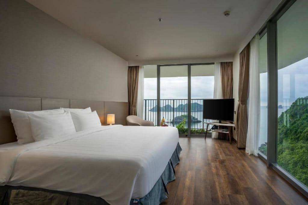 Căn hộ 1 phòng ngủ Flamingo Cát Bà Resort