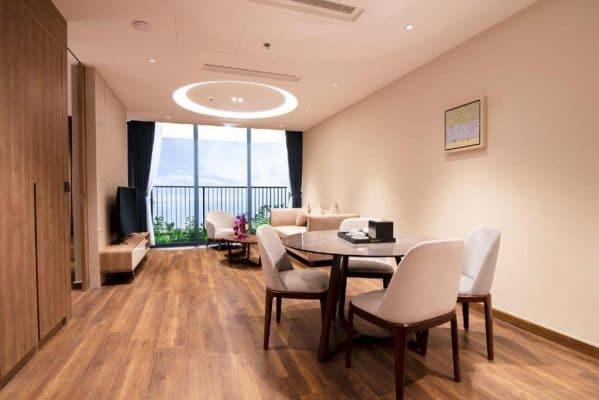 Căn hộ 1 phòng ngủ view biển Flamingo Cát Bà Resort