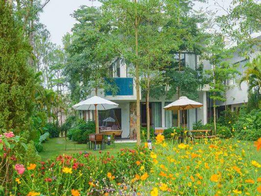 Villa nghỉ dưỡng ở FLamingo Đại Lải