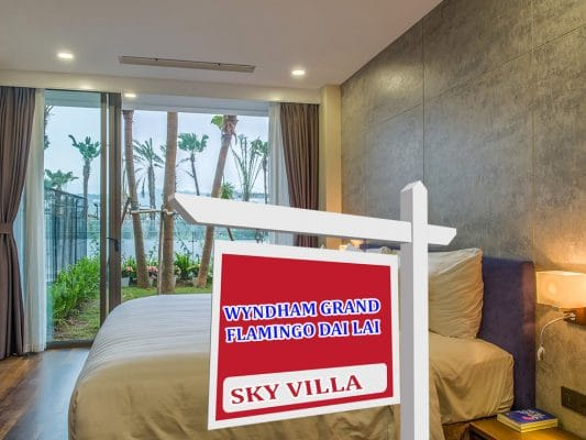 Sky Villa 1 phong ngu Wyndham Grand Flamingo Dai Lai